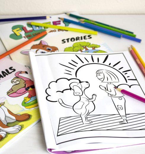 libros de colorear para niños
